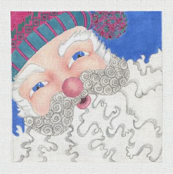 Santa Up Close