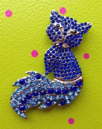 Sheena's Blue Fox Magnet