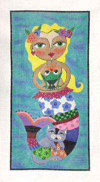 La Sirene le prince le chat