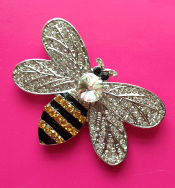 Exclusive Jeweled Bee Magnet