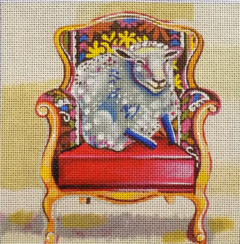 Sheep in Chair
