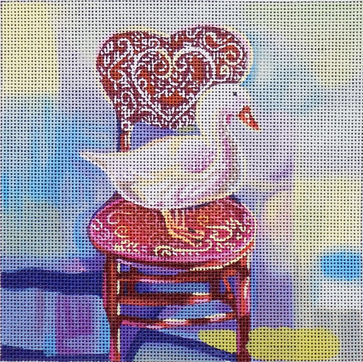 Goose in Chair