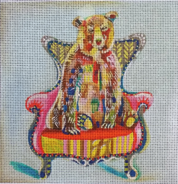 Bear in Chair