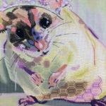 Fleur – a lesson in thread painting