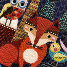 Foxes and Owls and Birds and Leaves